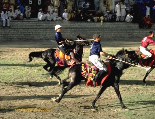 match de polo à Gilgit (Pakistan)