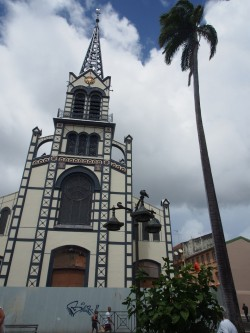 Martinique: cathédrale de Fort de France