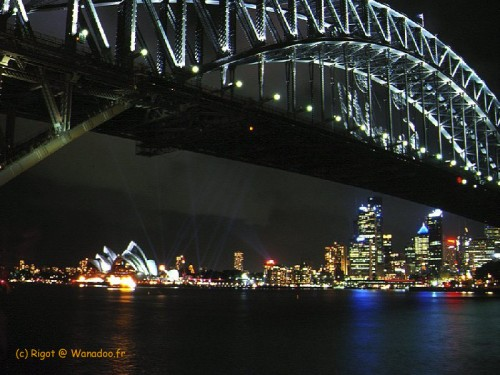 le pont de Sydney (harbour bridge)