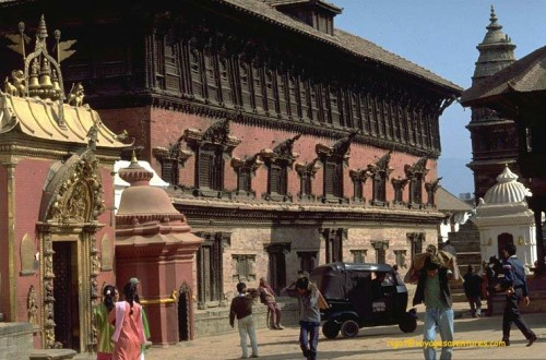 Palais royal de Bagdaon (Bhaktapur)